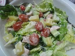 cara membuat salad sayur atau buah zalekha luvs cooking salad curan dgn mayo n 1000 island