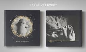 high end photo albums newborn photography album cover template starry