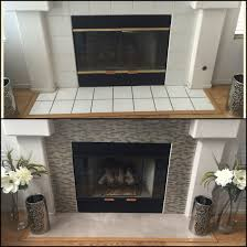 diy fireplace makeover under 100 smart tiles in muretto beige