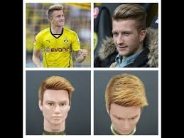 Marco Reus Hairstyle Marco Reus Haircut U0026 Hair Color Tutorial Thesalonguy Youtube