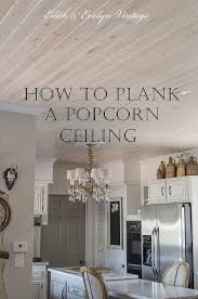 How To Build Simple Kitchen Cabinets The Easy And Affordable Way To Cover A Popcorn Ceiling Popcorn
