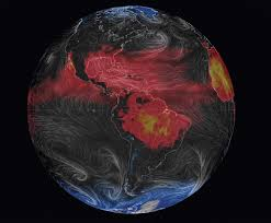 Earth Wind Map 3 D Map Of Earth Shows Real Time Weather Popular Science