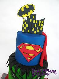 3 tier mini 3 tier marvel dc superhero birthday cake