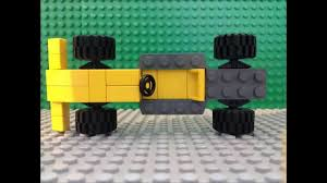 how to make a lego f1 car easy tutorial moc youtube