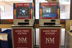 Nmsu Campus Map Printing Student Technology New Mexico State University