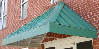 Standing Seam Awnings Commercial Gallery