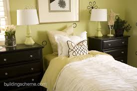 delectable lime green accents wall paint of fascinating bedroom