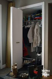 organized entry closet madness u0026 method