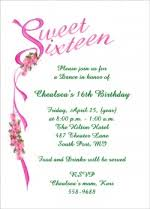 popular sweet sixteen invitation wording sles start at 99