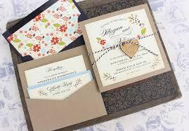 Wedding Invitation Pocket Vintage Floral Wedding Invitation Pocket Card Serendipity