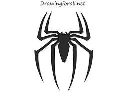 draw spider man logo drawingforall net