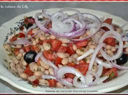 cuisiner haricots blancs secs recettes de salade de haricots blancs