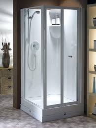 Shower Stalls For Small Bathrooms Crafty Shower Kits For Small Bathrooms Corner Shower Stalls Corner