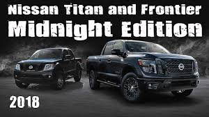 new nissan truck new 2018 nissan titan and frontier