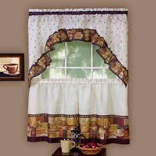 Walmart Kitchen Curtains Valances by Curtain Kitchen Curtains Valances Swags Singular And Swag Set