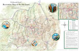 Telluride Colorado Map by 2onahill Fun In Other Places