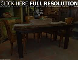 furniture low country black 6 piece 58 38 rectangular dining room