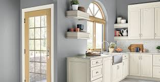 blue kitchen cabinets grey walls gray kitchen ideas and inspirational paint colors behr