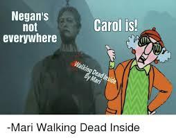Carol Walking Dead Meme - 25 best memes about negan walking dead negan walking dead memes