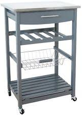kitchen islands and trolleys stainless steel kitchen islands carts with drawers ebay