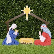 amazon com outdoor nativity store holy family outdoor nativity