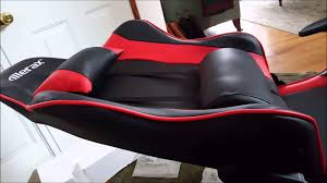 Desk Chair Gaming Merax Racing Style Computer Gaming Office Chair Overview