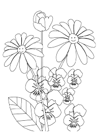 dibujos colorear flores 9 dibujos colorear dibujos