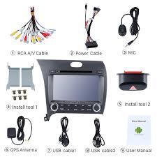 2014 kia cerato left android 7 1 gps radio dvd player stereo