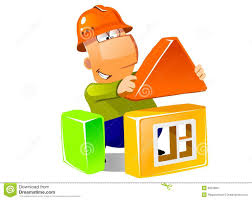 building a house building a house with construction modules stock photos image