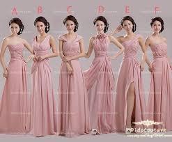 Pink Bridesmaid Dresses Blush Pink Bridesmaid Dresses Yuman Dakren