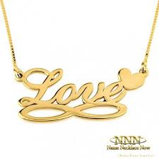 Custom Necklace Name 30 Best Gold Personalized Necklace Images On Pinterest