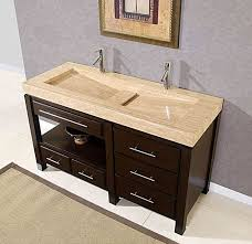 awesome double faucet bathroom sink and double faucet sink houzz