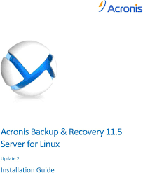 citrix help desk 22222 acronis backup recovery 11 5 server for linux update 2