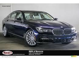 2017 imperial blue metallic bmw 7 series 740i sedan 115868446