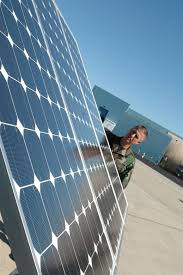 solar powered lights harness arizona sun for fighter wing 162nd
