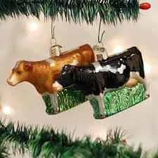 yourchristmasstore dairy cow world glass