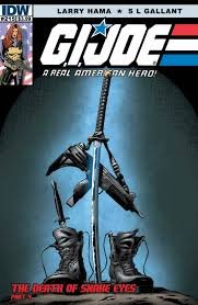 idw g i joe arah 215 the death of snake eyes part 4 preview