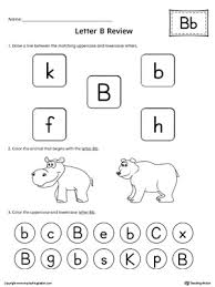 Pre K Letter Worksheets All About Letter B Printable Worksheet Myteachingstation Com