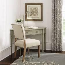 Gray Office Desk Martha Stewart Living Ingrid Rubbed Gray Desk 9709000270 The