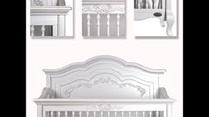 Storkcraft Princess 4 In 1 Fixed Side Convertible Crib White by Evolur Aurora Princess Collection Crib Dresser Armoire