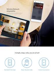 yi home camera hd 720p smart wifi ip camera
