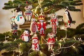 Nutcracker Christmas Tree Ornaments Uk by Christmas Tree Decoration Grey Nutcracker
