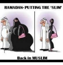 Funny Ramadan Memes - ramadan putting the slim back in muslim meme on sizzle
