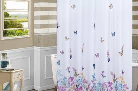 White And Purple Curtains Shower Purple And White Shower Curtains Celebrate Green And