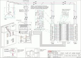 3 phase manual changeover switch wiring diagram for generator with 3