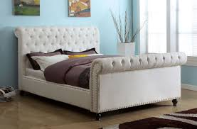 Tufted Sleigh Bed Elegant Tufted Sleigh Bed King Tufted Sleigh Bed King Design