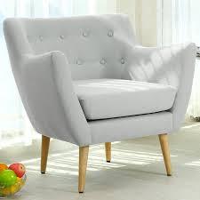 fauteuil et canapé fauteuil style scandinave oslo tissu gris fauteuil scandinave