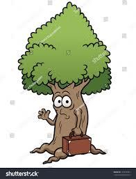 vector illustration cartoon tree stock vector 133772003 shutterstock