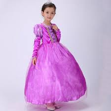 aliexpress com buy best quality girls rapunzel party dresses