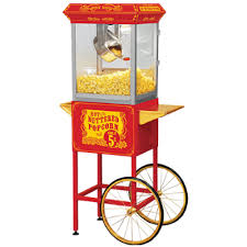 popcorn rental machine 8 oz popcorn machine and cart rental concession carts